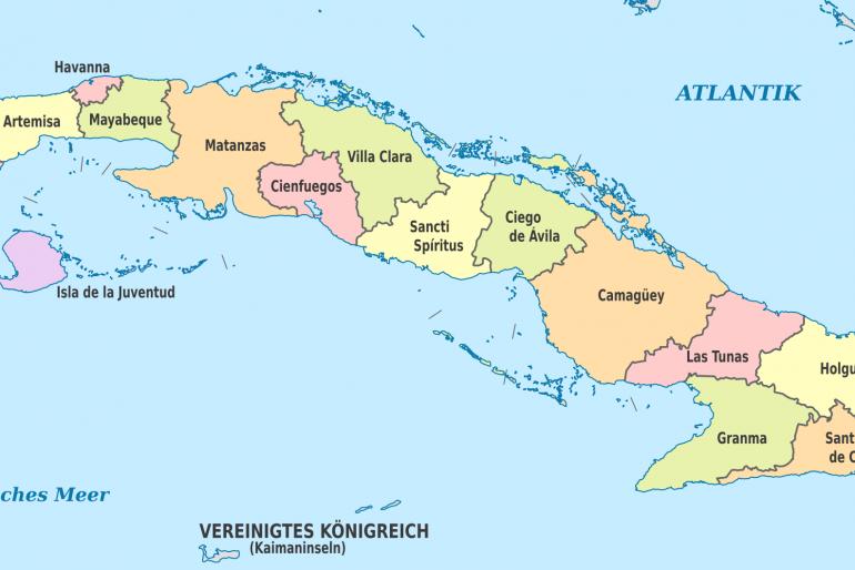 Základní informace o Kubě