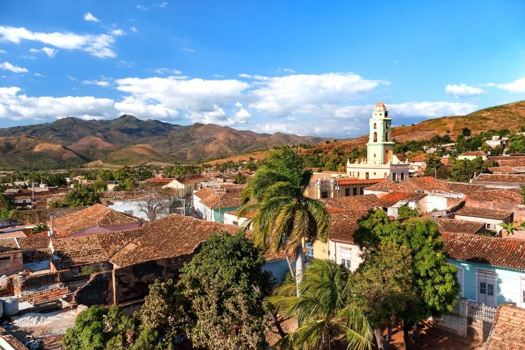Nádherné kubánské město Trinidad