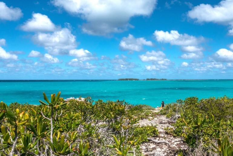 Playa Pilar na ostrově Cayo Guillermo