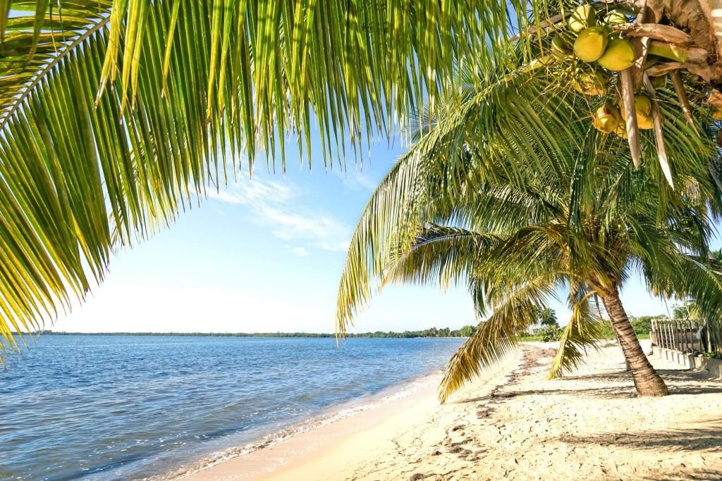 Pláž na Cayo Largo