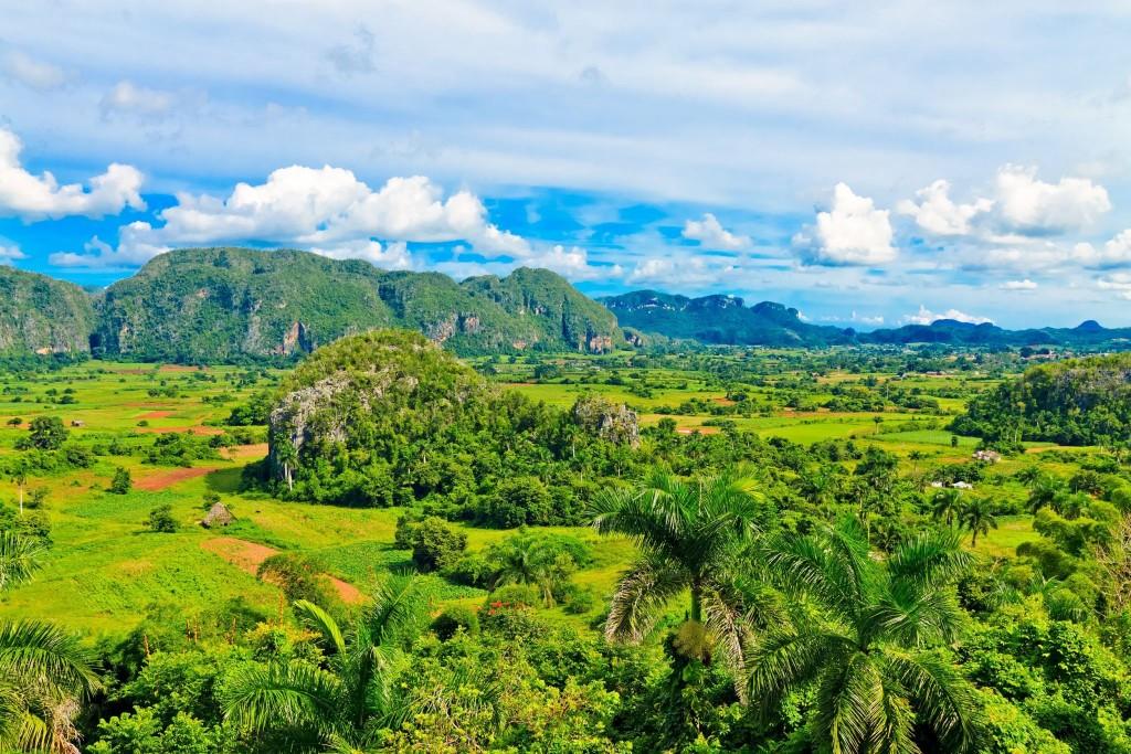 Provincie Piňar del Río nabízí krásné scenérie