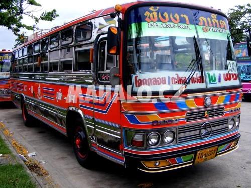 Autobus v Thajsku