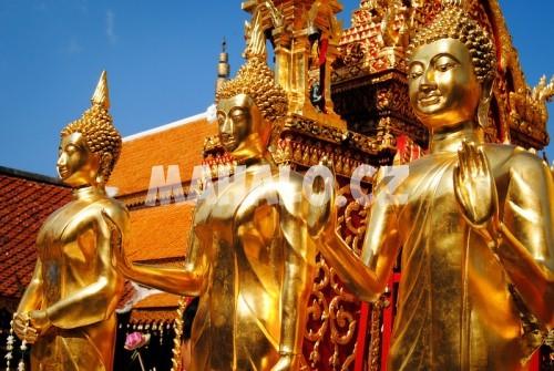 Thajské chrámy
