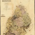 Historická mapa Mauricia