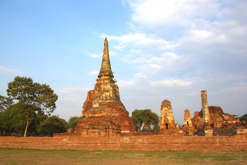 Khmérské chrámy Ayutthaya