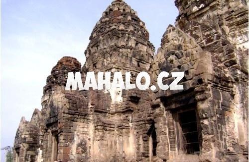 Khmérské stavby