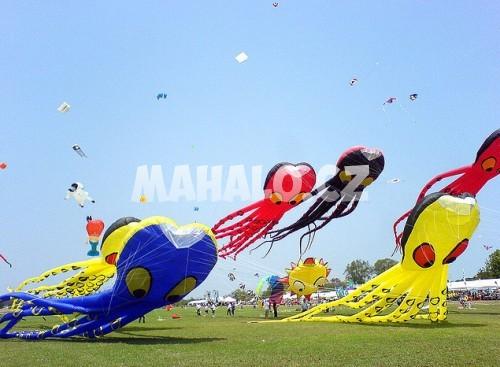 Kite fights festival - festival soubojů draků