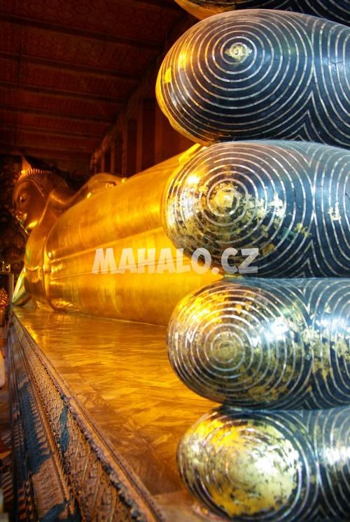 Ležící Buddha - Wat Pho