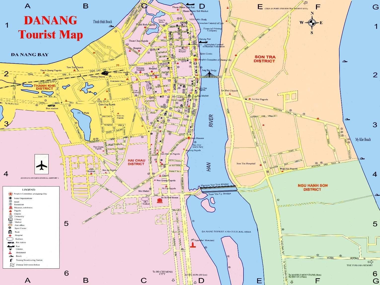 Da Nang Vietnam  city photo : Mapa Da Nang | Vietnam | MAHALO.cz