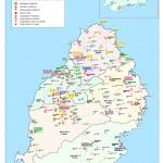 Orientační mapa zdravotnických zařízení na Mauriciu