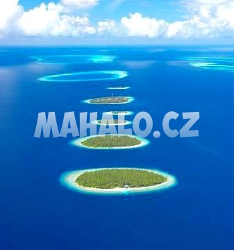 Ostrůvky na atolu Baa