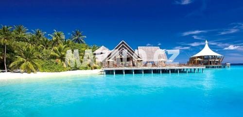 Resort na atolu Jižní Malé