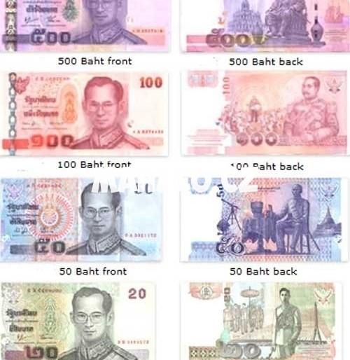 Orientační ceny v Thajsku a thajská měna