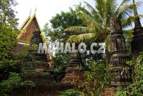 Ukryté chrámy v Ayutthaya