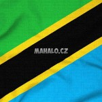 Vlajka Tanzánie - detailní