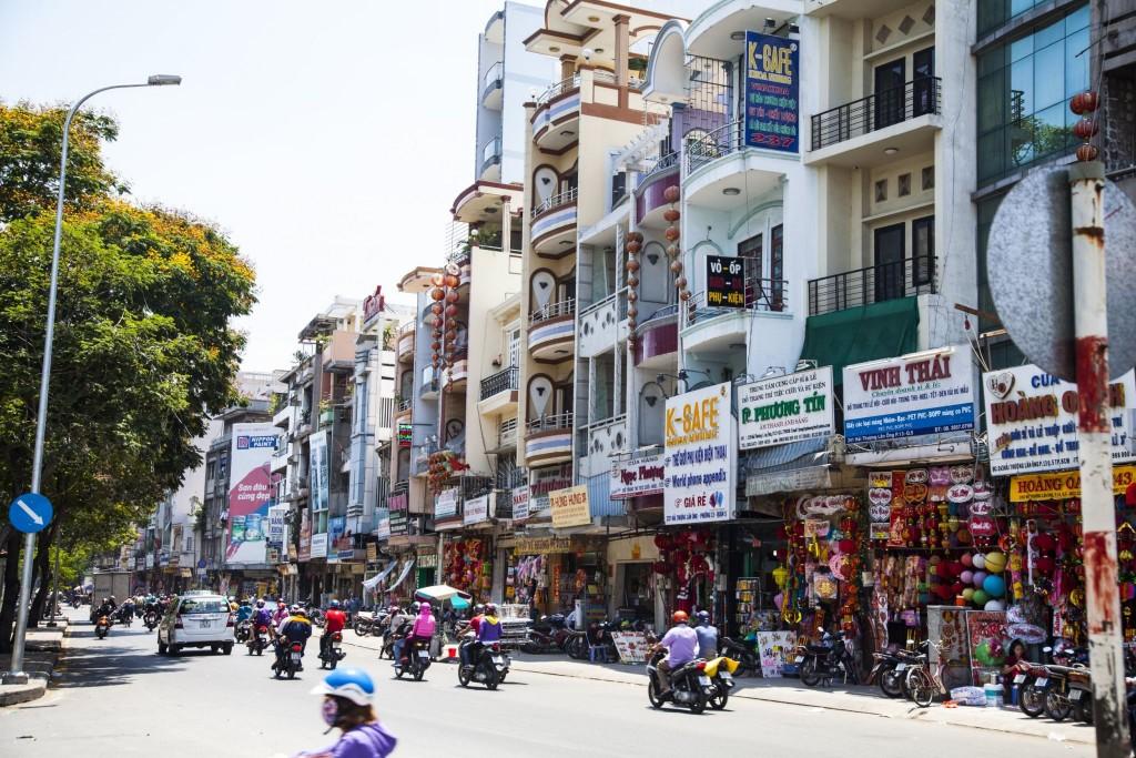 Cholon - čínská čtvrť v Ho Chi Minově městě
