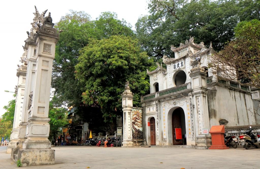 Chrám Quan Thanh v Hanoji
