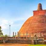Dagoba Jetavanaramaya v posvátném městě Anuradhapura