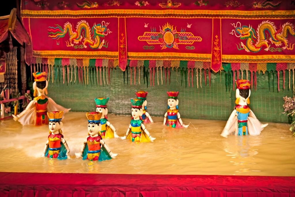 Divadlo vodních loutek v Hanoji