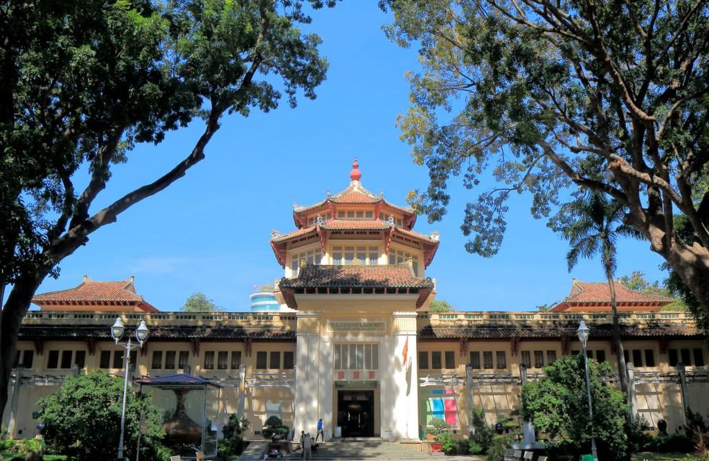 Historické muzeum v Ho Chi Minově městě