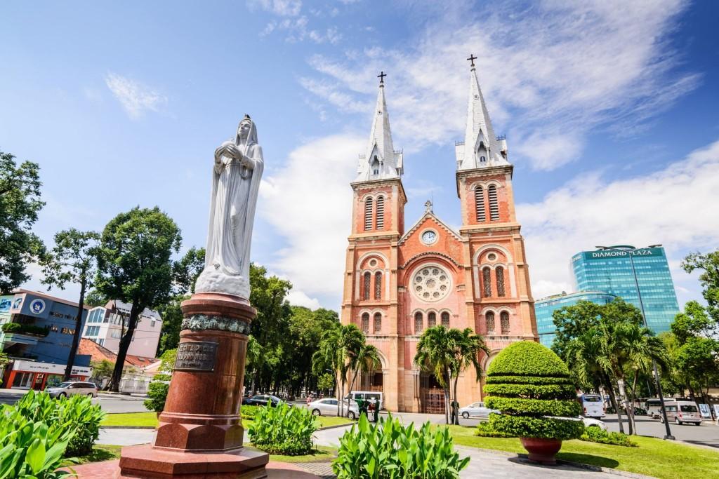 Katedrála Notre Dame v Saigonu