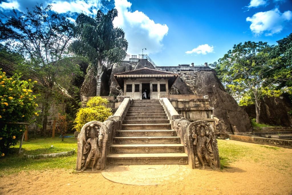 Klášter Isurumuniya Viharaya ve městě Anuradhapura