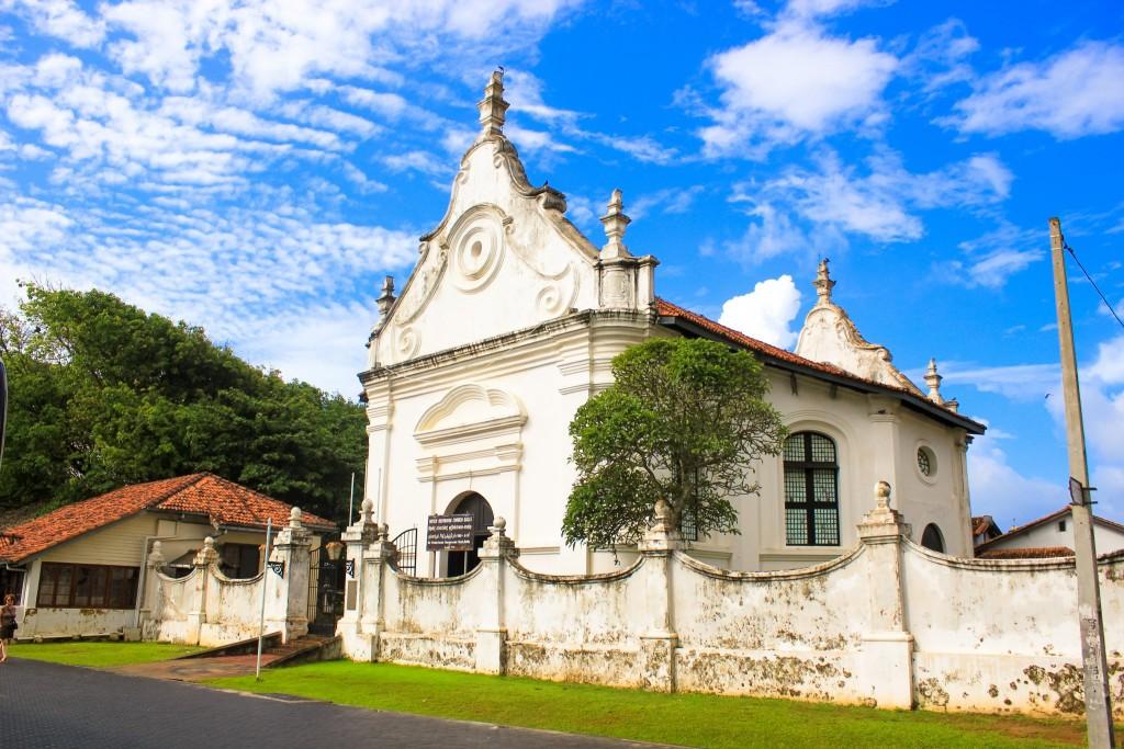 Kostel města Negombo