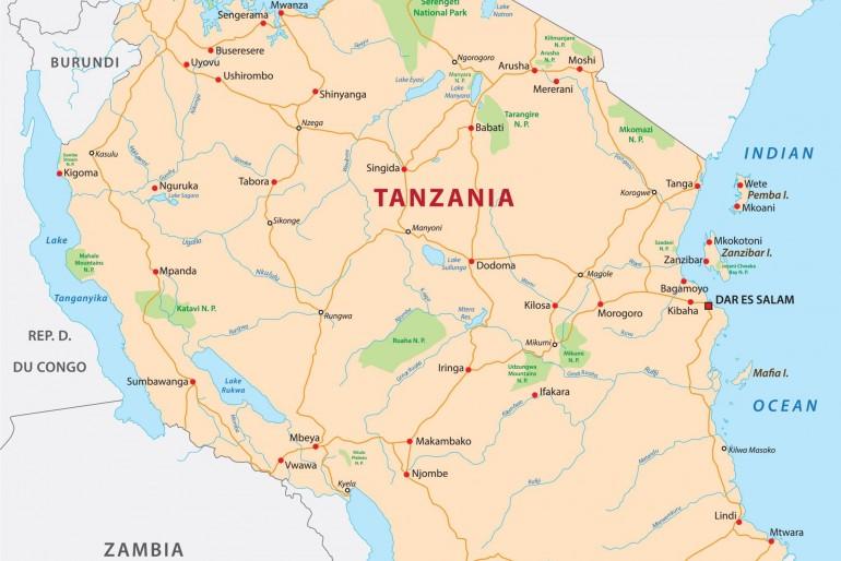 Základní informace o Tanzánii