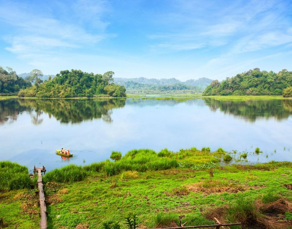 Národní park Cat Tien - krokodýlí jezero