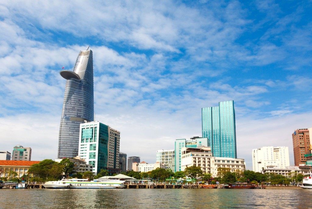 Obchodní a finanční centrum Ho Chi Minova města (Saigonu)