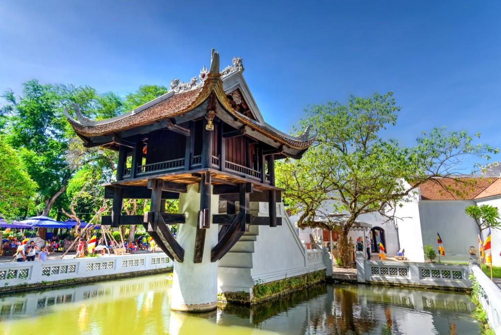 Pagoda na jednom pilíři (Chua Mot Cot, dříve Dien Huu Pagoda), Hanoj
