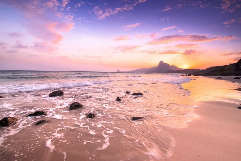 Pláž Bai Nhat na souostroví Condao