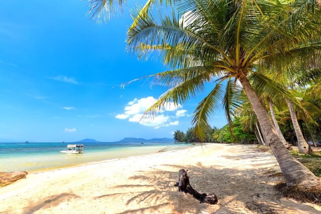 Pláž Bai Sao na ostrově Phu Quoc
