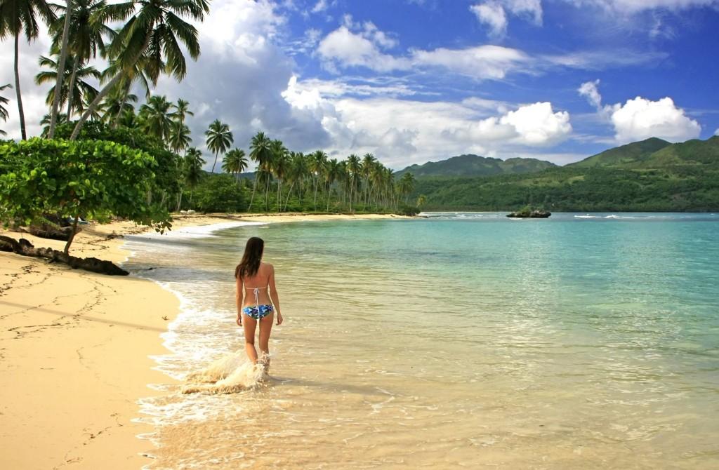 Pláž v Samaná