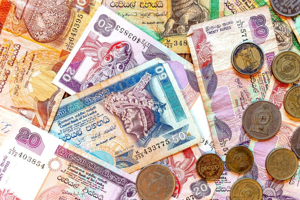 Srílanská měna - rupie