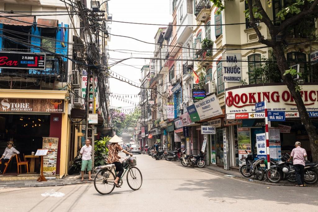 Stará čtvrť Hanoje
