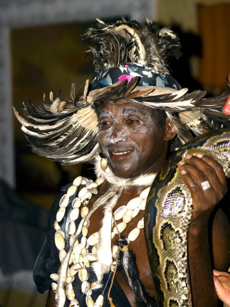 Tanzanský šaman