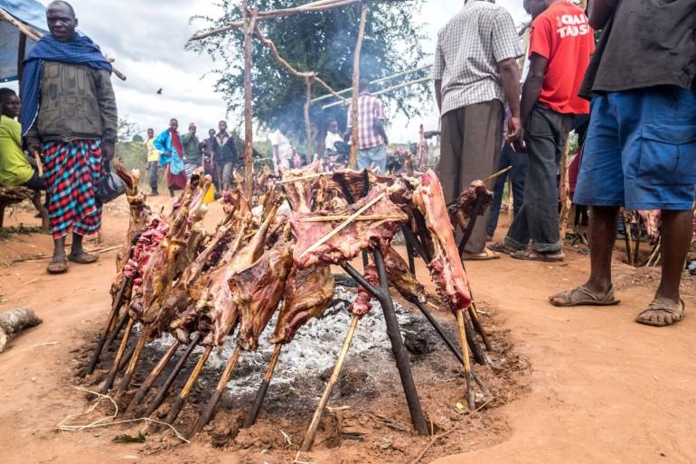 Kuchyně a tradiční jídla v Keni
