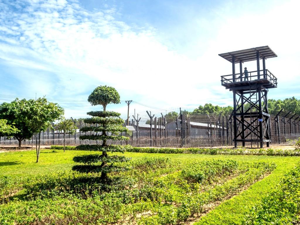 Věznice na ostrově Phu Quoc