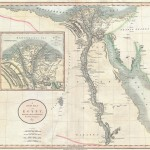 Historická mapa Egypta