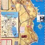 Mapa - Turistický plánek Hurghady