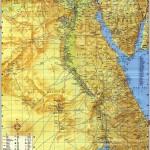 Mapa Egypta