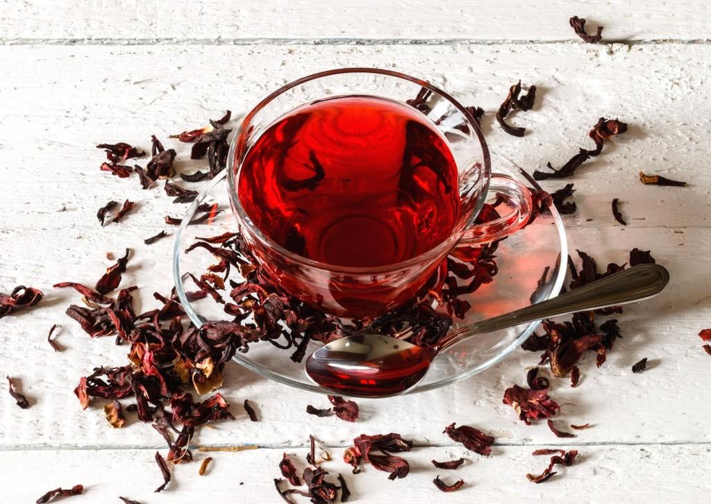 Červený čaj Karkadeh