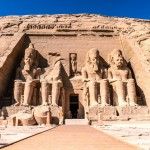 Chrám v Abú Simbel