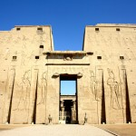 Chrám v Edfu