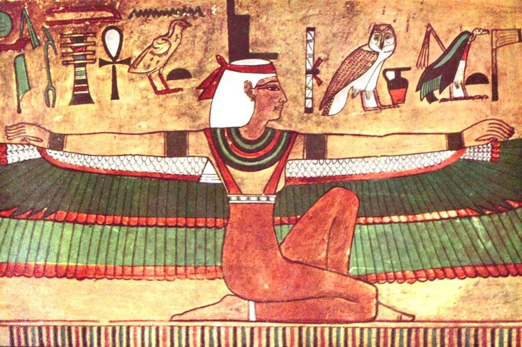 Éset (Isis) - bohyně zdraví a manželství