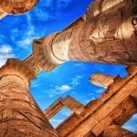 Hypostyl chrámu v Karnaku