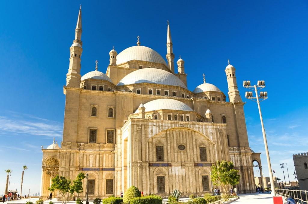 Káhirská citadela - mešita Muhammada Aliho