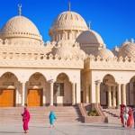 Mešita v hurghadské marině