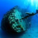 Potápění k vraku lodi v Rudém moři